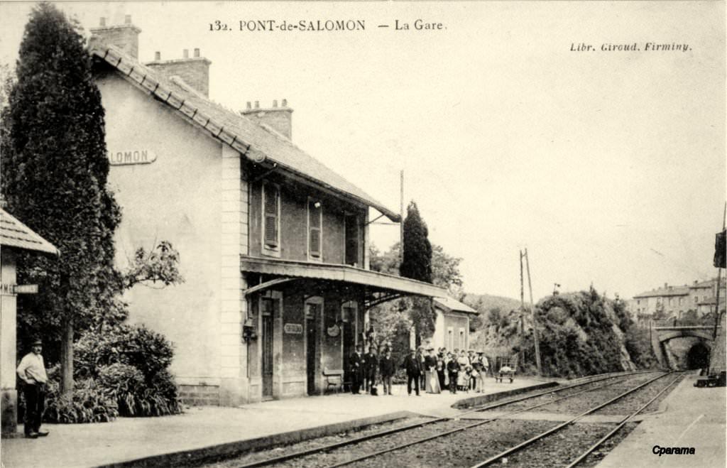 Pont salomon 43 haute loire cartes postales for 43 haute loire