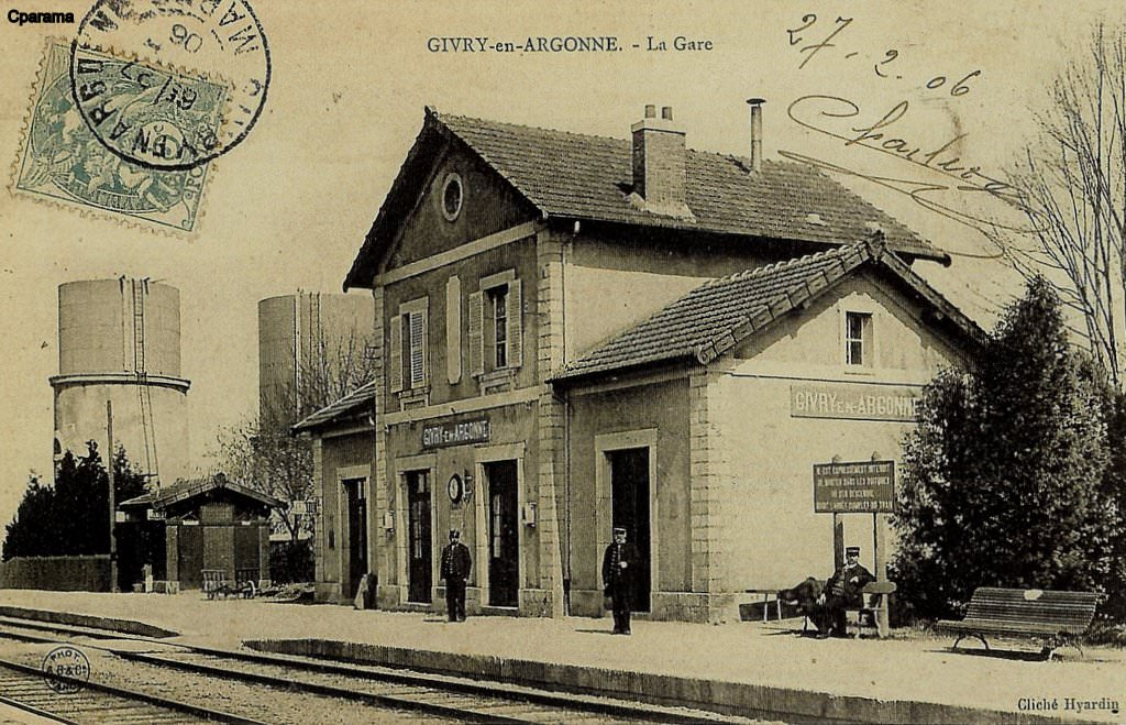 Givry en argonne 51 marne cartes postales anciennes for Photographe clamart gare