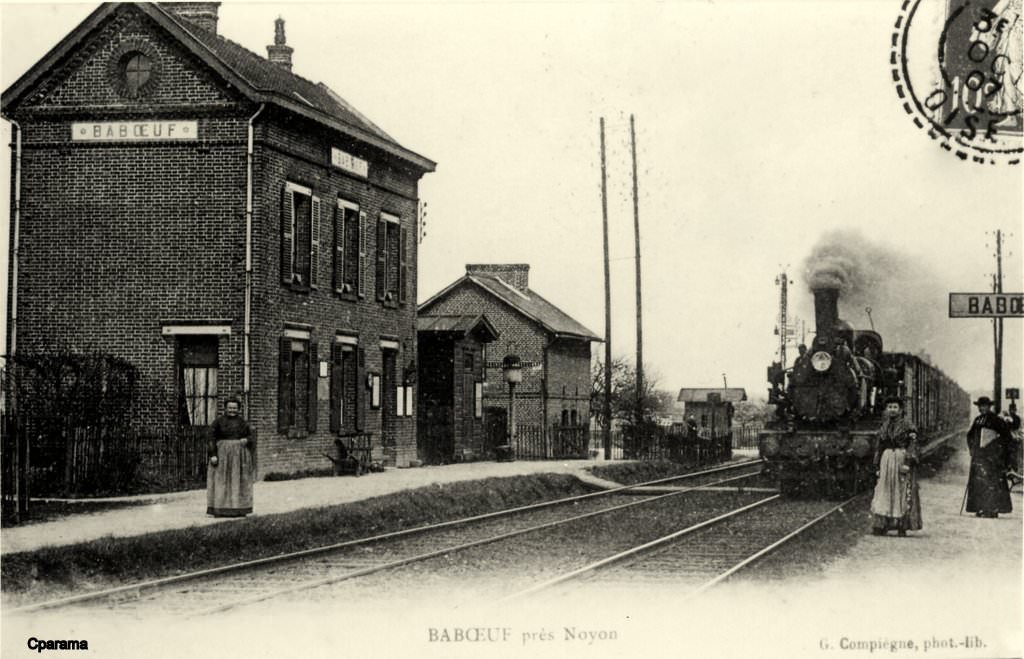 Baboeuf 60 oise cartes postales anciennes sur cparama for Photographe clamart gare