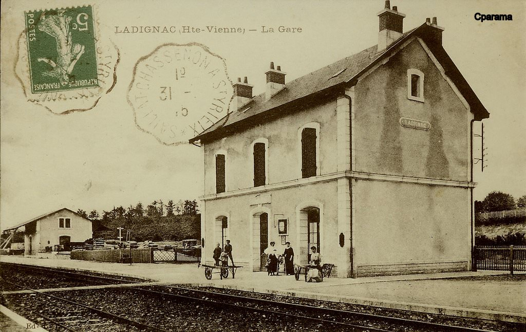 Ladignac le long 87 haute vienne cartes postales for 87 haute vienne carte