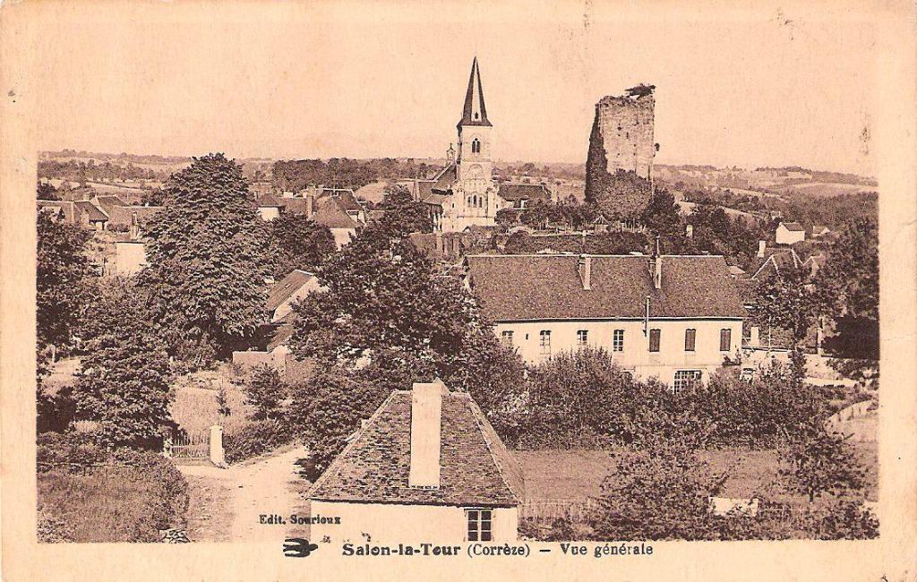 Salon la tour 19 corr ze cartes postales anciennes for Salon la tour