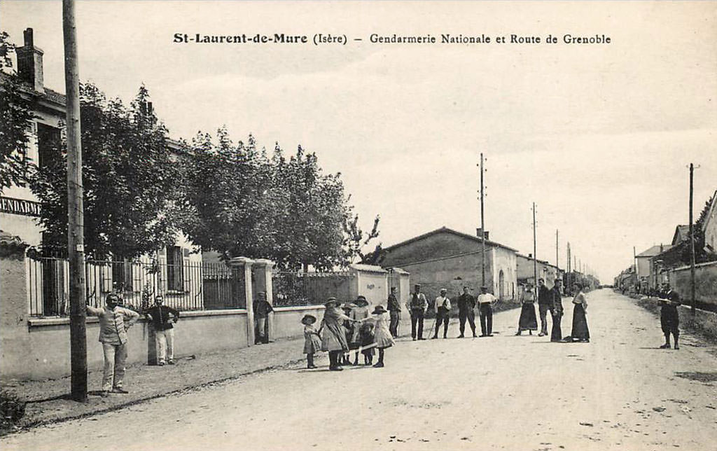 Saint laurent de mure 69 rh ne cartes postales anciennes sur cparama - Garage saint laurent de mure ...