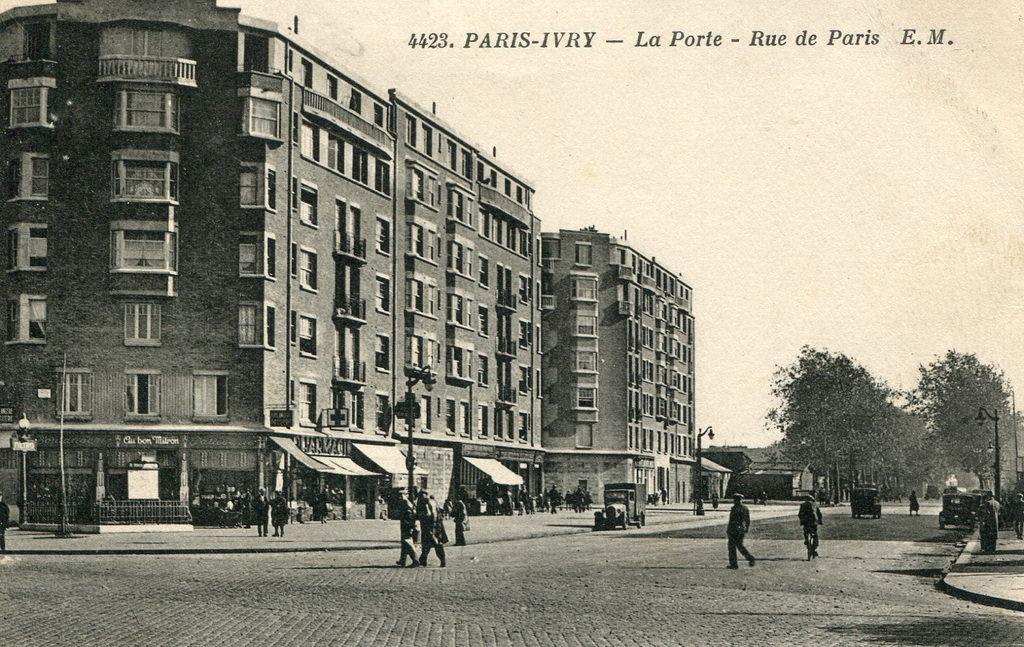 Le m tropolitain de paris ligne 7 paris hier aujourd - Metro porte d ivry ...