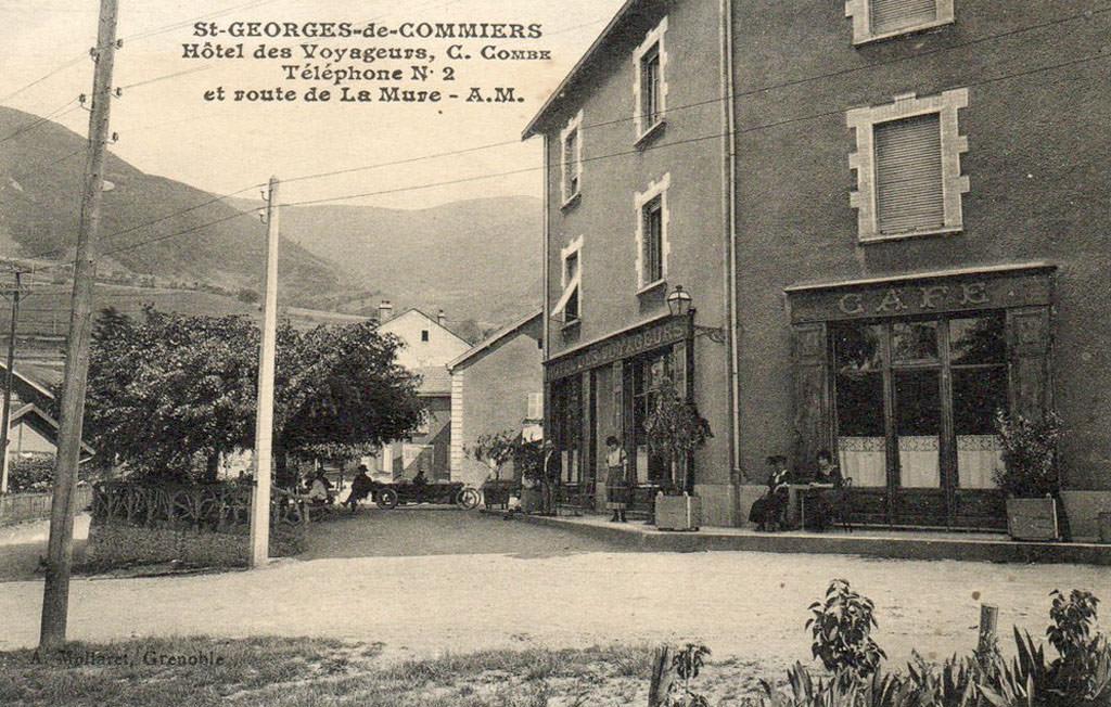 Saint georges de commiers 38 is re cartes postales for Maison saint georges de commiers
