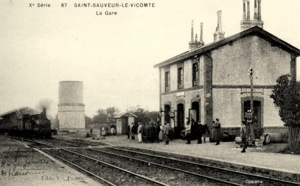 Saint sauveur le vicomte 50 manche cartes postales anciennes sur cparama - Piscine saint sauveur le vicomte ...