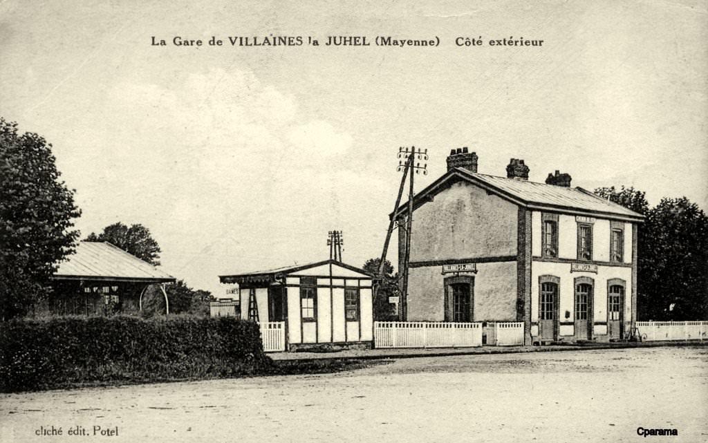 Villaines la juhel 53 mayenne cartes postales for Photographe clamart gare