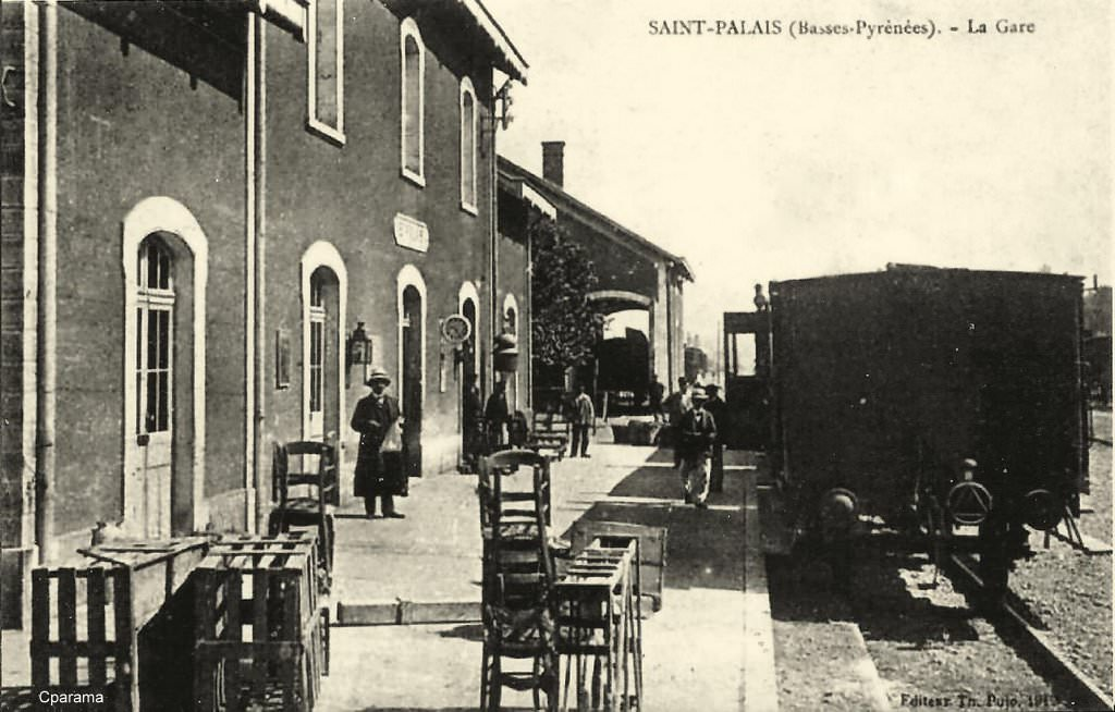saint palais 64 pyr n es atlantiques cartes postales anciennes sur cparama. Black Bedroom Furniture Sets. Home Design Ideas