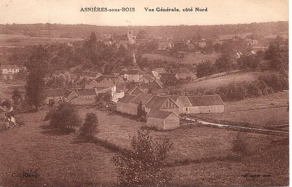 Asnières  89  Yonne  Cartes Postales Anciennes sur CPArama