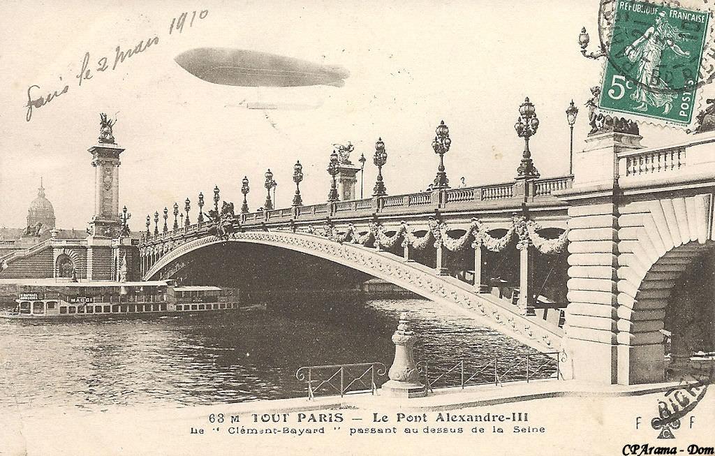 Paris Pont Alexandre Iii Ponts De Paris Cartes