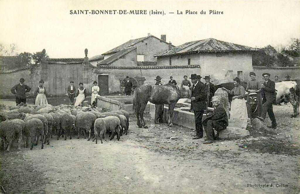 Saint bonnet de mure 69 rh ne cartes postales - France meuble st bonnet de mure ...