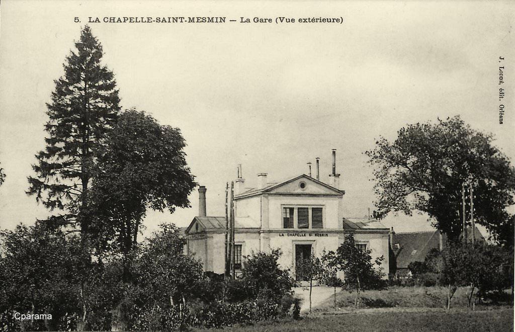 la chapelle saint mesmin 45 loiret cartes postales anciennes sur cparama. Black Bedroom Furniture Sets. Home Design Ideas