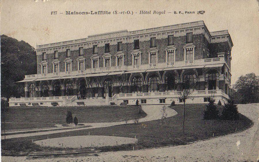 maisons laffitte 78 yvelines cartes postales anciennes sur cparama