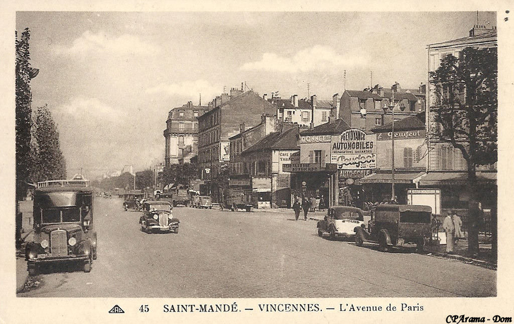 avenue aubert vincennes
