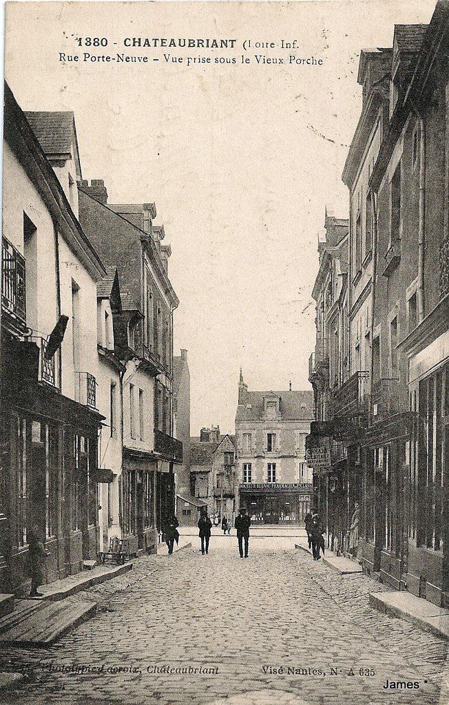 Ch teaubriant 44 loire atlantique cartes postales for Porte neuve chateaubriant