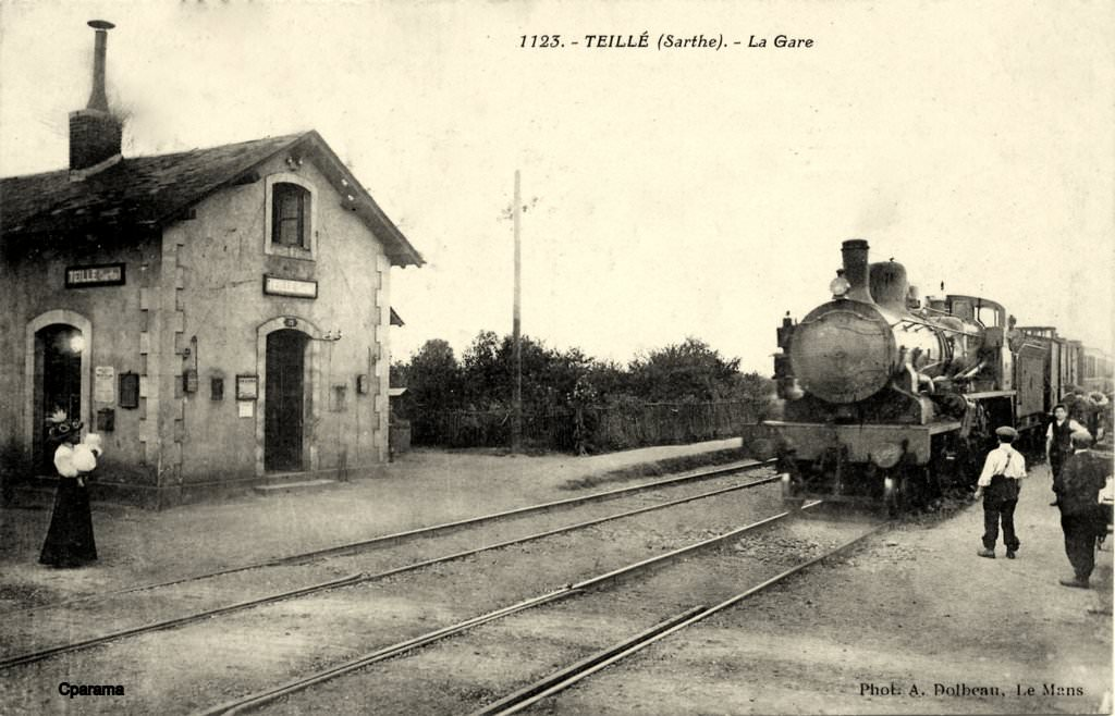 Teill 72 sarthe cartes postales anciennes sur cparama for Photographe clamart gare