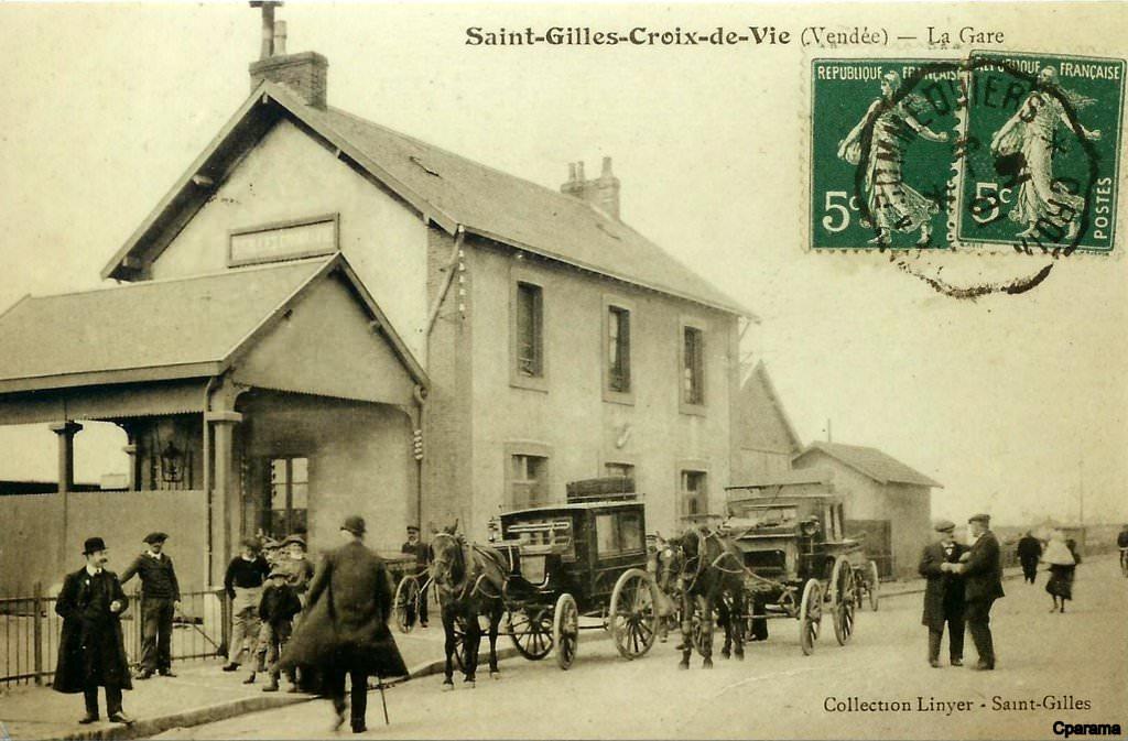 Saint gilles croix de vie 85 vend e page 2 cartes for Architecture ancienne