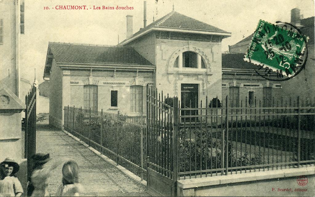 1 chaumont cartes postales anciennes diverses - Bain douche nancy ...