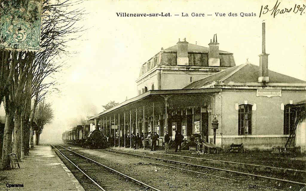 Villeneuve sur lot 47 lot et garonne cartes postales for Chambre de commerce villeneuve sur lot
