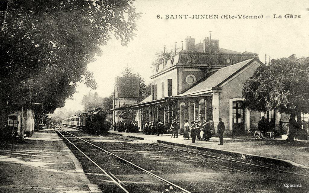 Saint junien 87 haute vienne cartes postales for 87 haute vienne carte