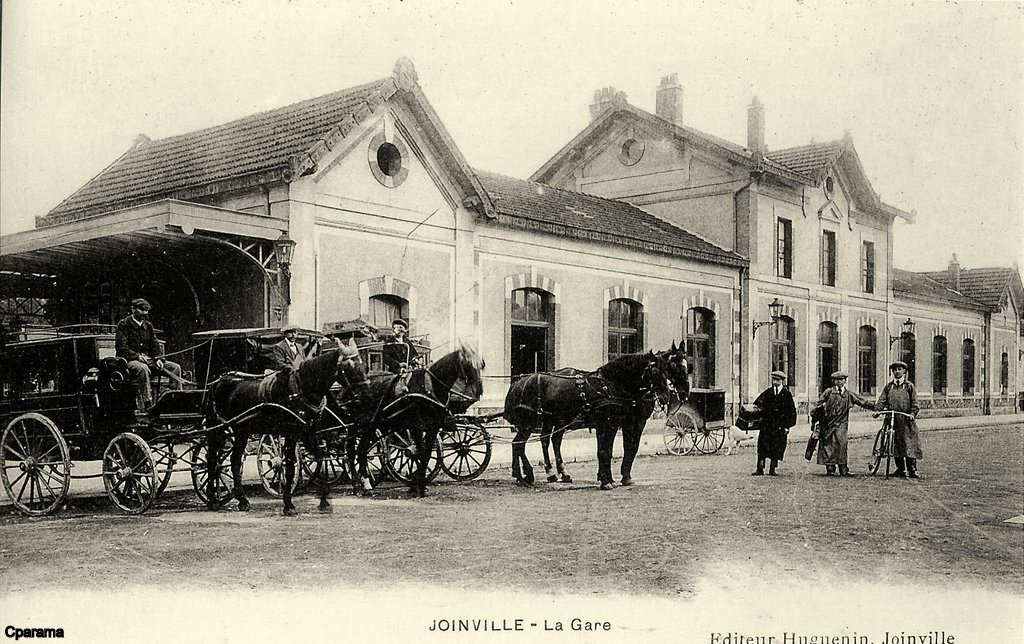Joinville 52 haute marne cartes postales anciennes for 52 haute marne