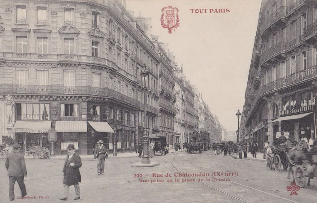 Paris Rue De Chateaudun Paris Ixe Arr Cartes