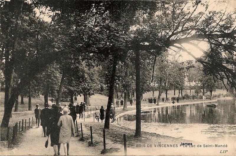 Paris  Bois de Vincennes  Paris XIIe arr  Cartes Postales  ~ Jardinerie Delbard Bois Paris