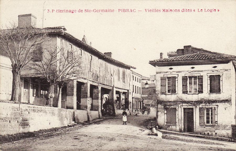 Pibrac 31 haute garonne cartes postales anciennes for Logis de france toulouse