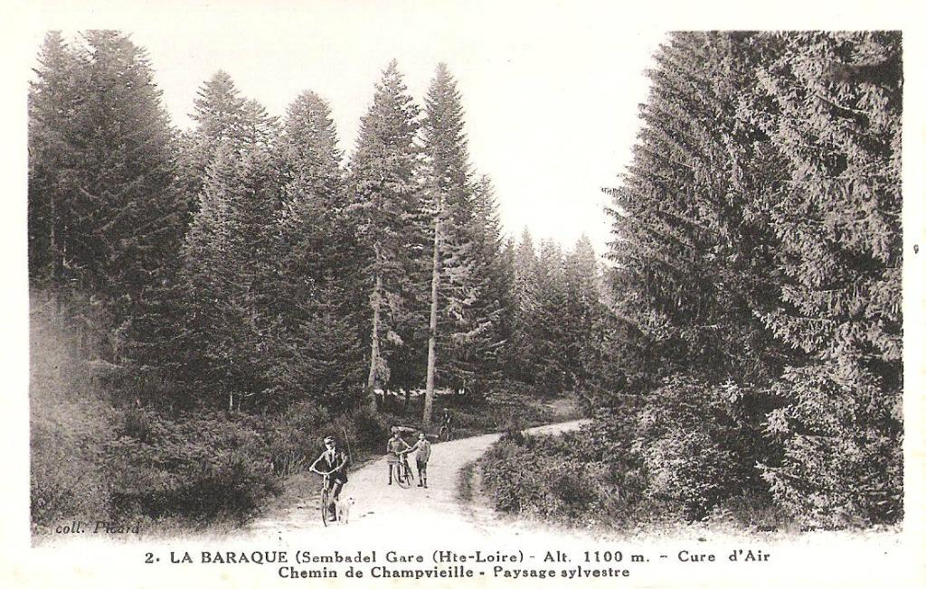 Sembadel 43 haute loire cartes postales anciennes for 42 haute loire