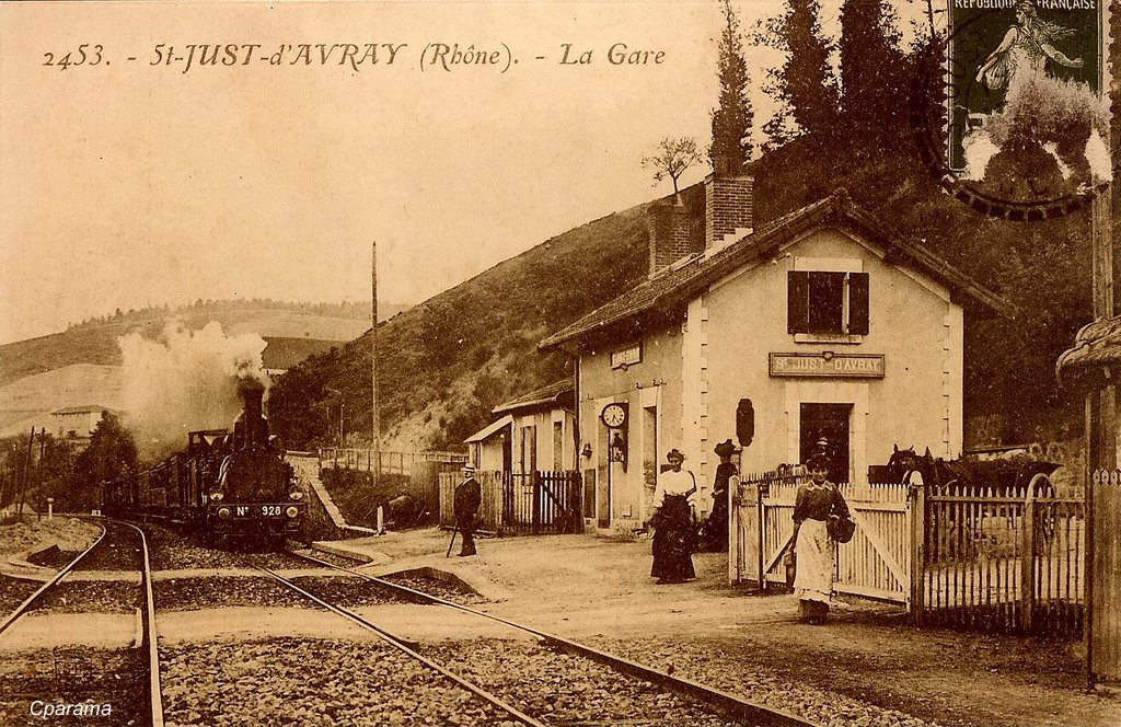 Saint Just D Avray 69 Rh 244 Ne Cartes Postales