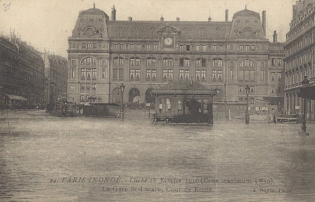 Inondation Paris De 1910 75 Paris Cartes Postales