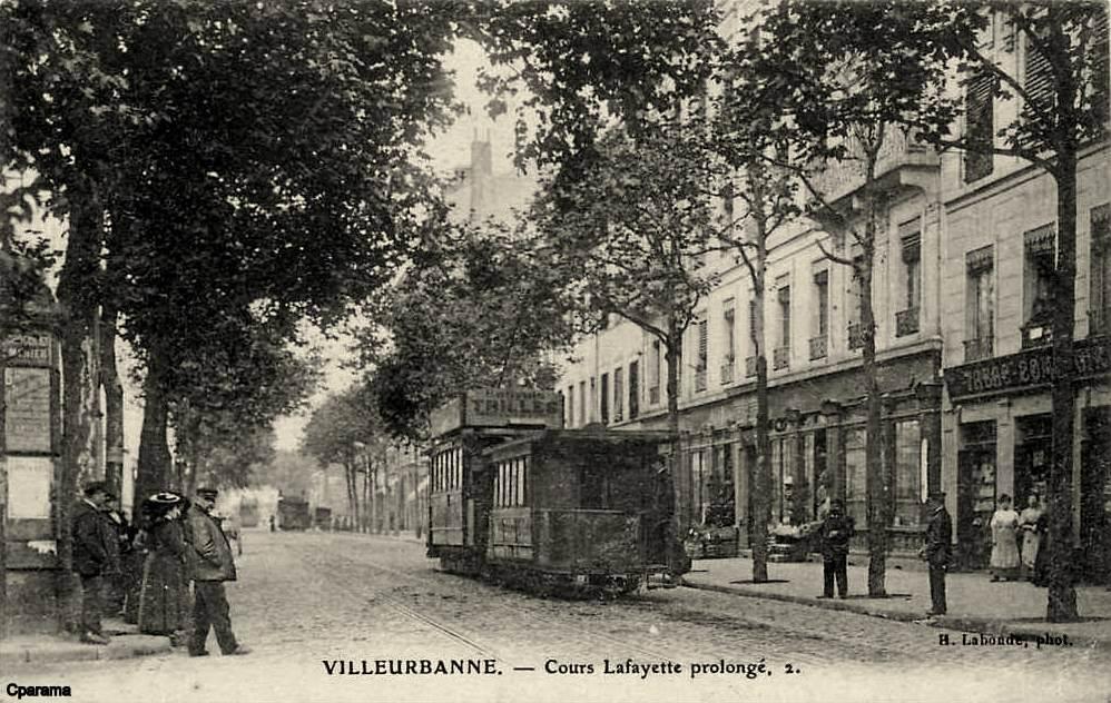 Villeurbanne 69 rh ne cartes postales anciennes sur for Garage rue des bienvenus villeurbanne
