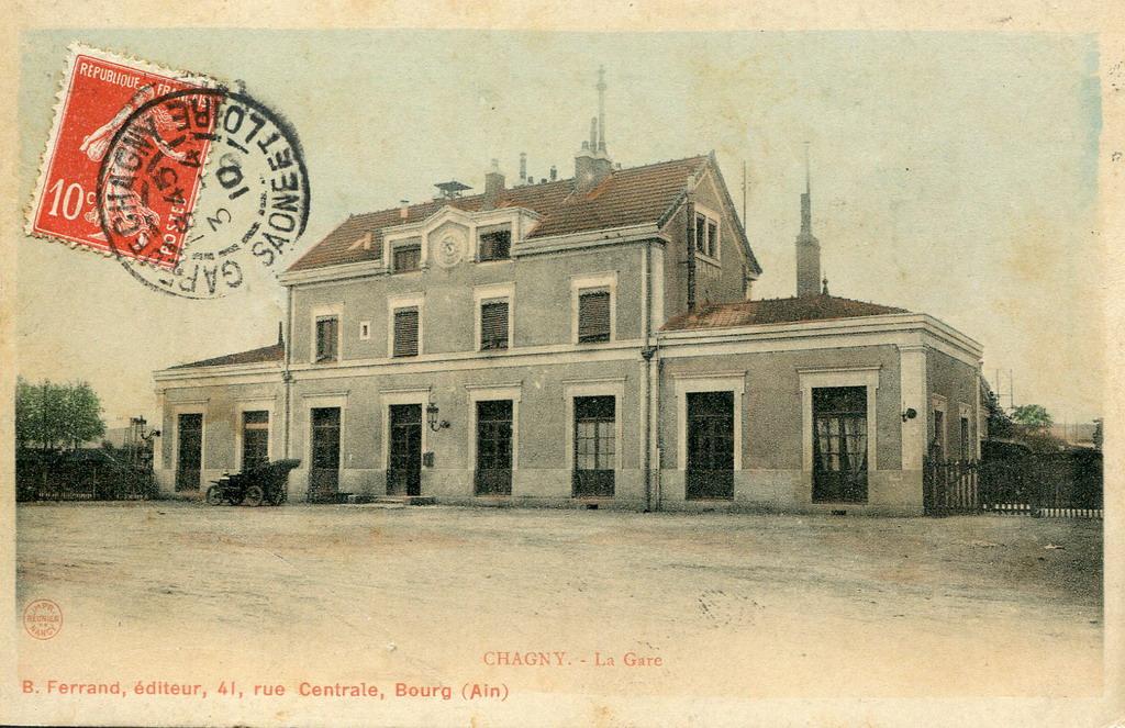 Chagny 71 sa ne et loire cartes postales anciennes for 71 haute saone