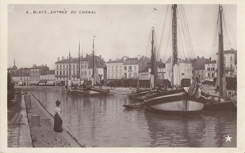 Blaye : 33 - Gironde | Cartes Postales Anciennes sur CPArama