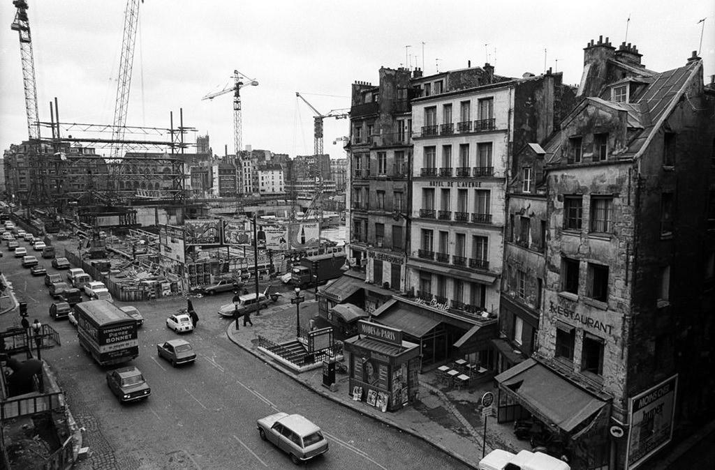 Le m tropolitain de paris ligne 11 paris hier aujourd 39 hui cartes postales anciennes sur - Rue rambuteau paris ...