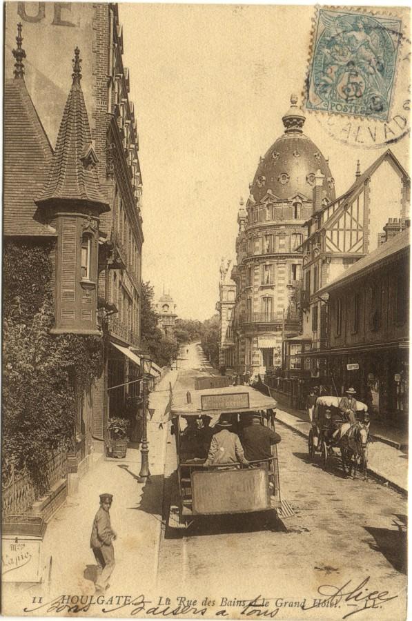 Houlgate beuzeval 14 calvados cartes postales for Rue des bains
