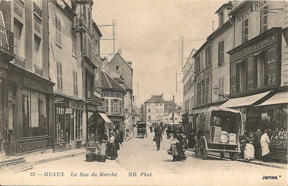 Meaux 77 seine et marne cartes postales anciennes for Garage rue de meaux vaujours