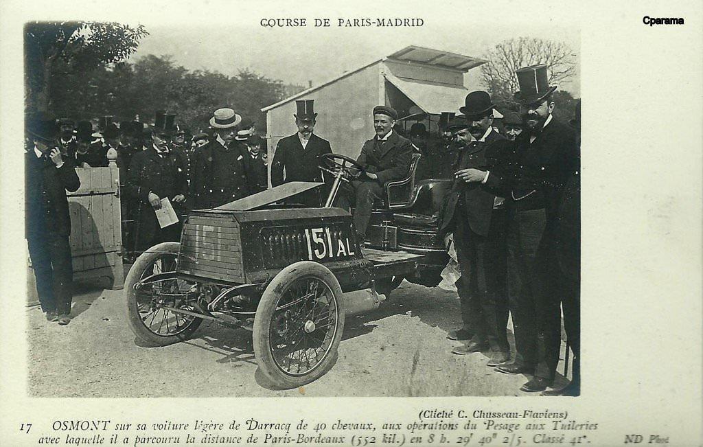 courses automobiles 1903 automobiles et voitures cartes postales anciennes sur cparama. Black Bedroom Furniture Sets. Home Design Ideas