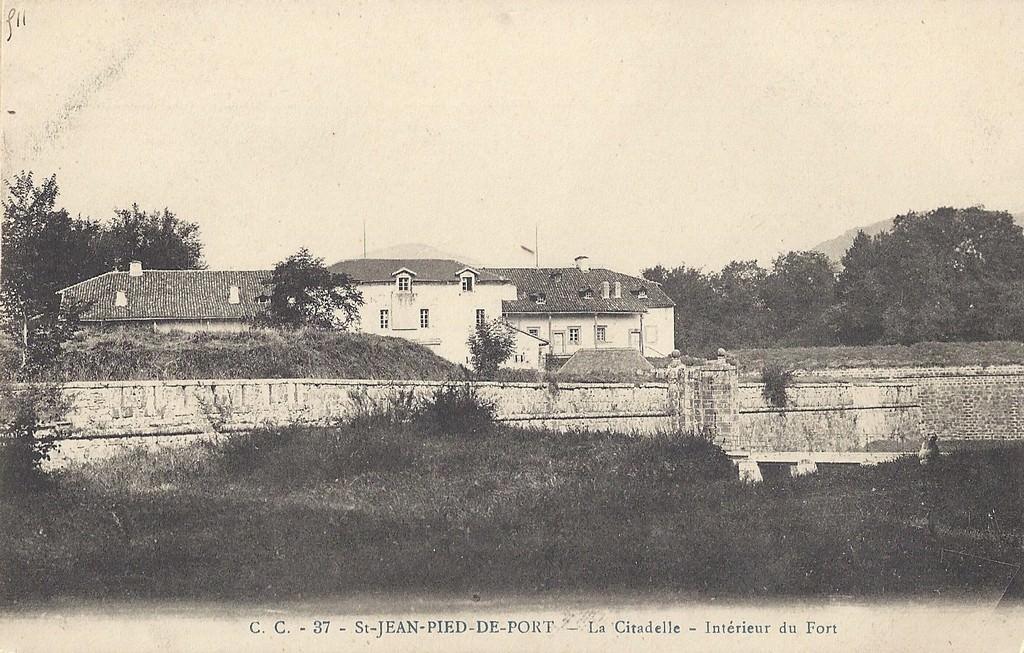 Saint jean pied de port 64 pyr n es atlantiques cartes postales anciennes sur cparama - Les pyrenees saint jean pied de port ...
