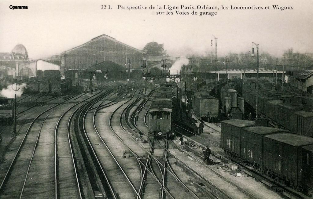 Paris gare d 39 austerlitz paris xiiie arr cartes for Le garage paris austerlitz