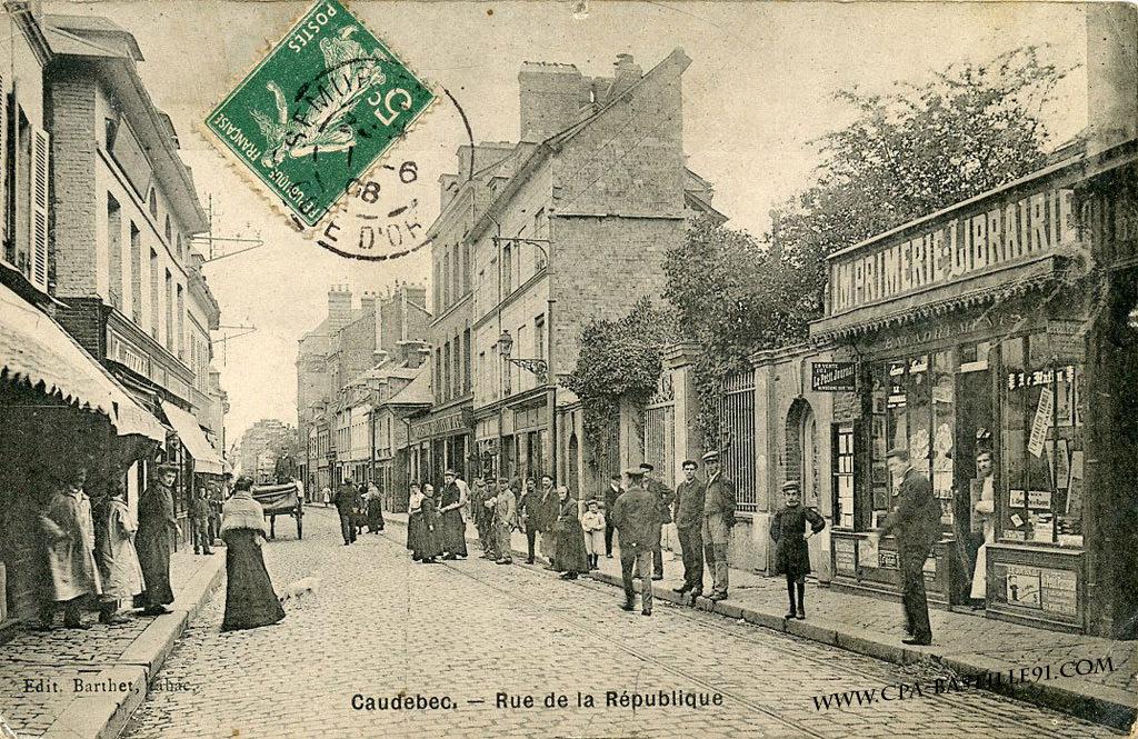 Caudebec-lès-Elbeuf - CPArama.com