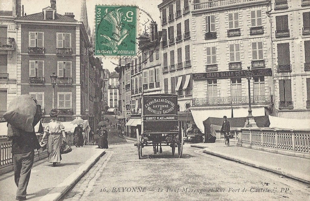 Bayonne 64 pyr n es atlantiques cartes postales for Informatique forum bayonne