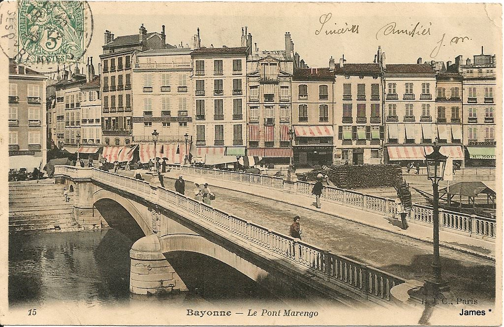 Bayonne bayonne page 2 cartes postales anciennes sur for Informatique forum bayonne