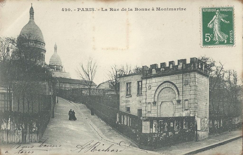 Paris Rue De La Bonne Montmartre Paris Xviiie Arr