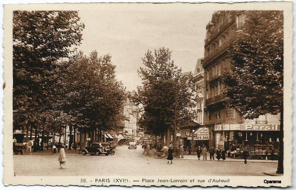 M tropolitain m tro paris 75 paris page 83 cartes postales anciennes sur cparama - Monoprix rue de passy ...