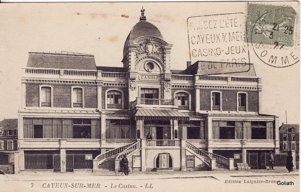 Cayeux sur mer 80 somme cartes postales anciennes for Garage cayeux sur mer