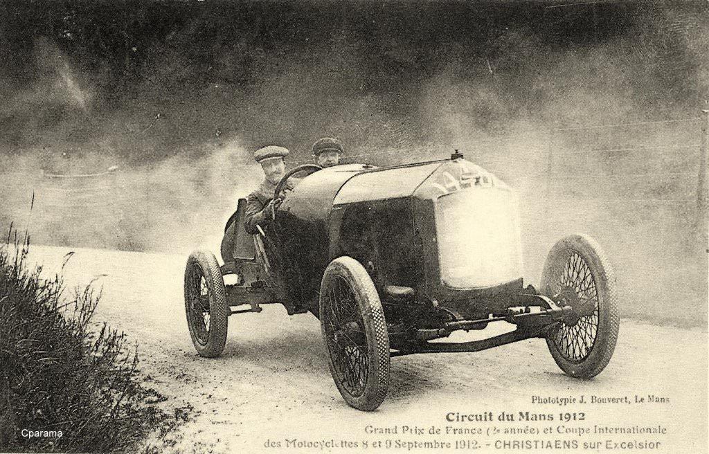 courses automobiles de 1909 1913 automobiles et voitures page 3 cartes postales. Black Bedroom Furniture Sets. Home Design Ideas