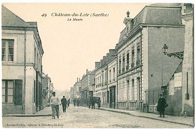 Ch teau du loir 72 sarthe cartes postales anciennes sur cparama - Brocante chateau du loir ...
