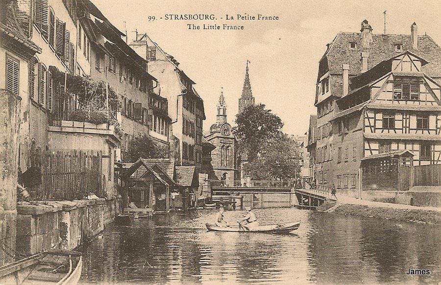 Strasbourg - Petite France : Strasbourg | Cartes Postales Anciennes sur CPArama