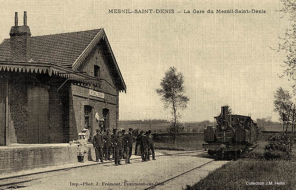 Le mesnil saint denis 78 yvelines cartes postales for Photographe clamart gare