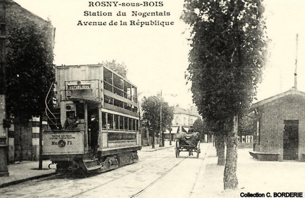 rosny sous bois 93 seine denis cartes postales anciennes sur cparama